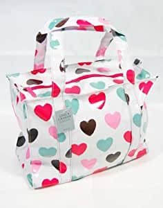 Gisela Graham Brushstroke Hearts Bag