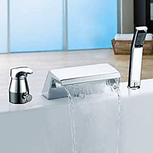 Vasca da bagno rubinetti hjz contemporaneo cascata - Rubinetti per vasca da bagno ...