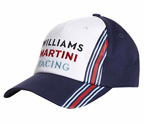 Williams Martini Formula 1 Racing Blue & White Team Hat styled by Hackett London (Williams Formula 1 compare prices)