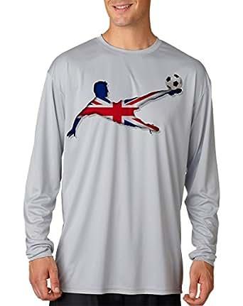 Amazon.com: Hellfire Graphics Men's Performance United Kingdom Soccer