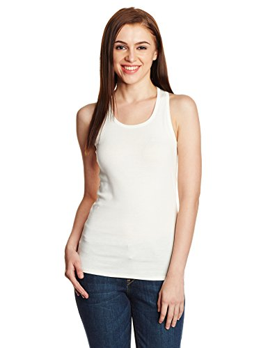 UCB Women's Tank Top (15A3C78E9004I074_Off White_L)
