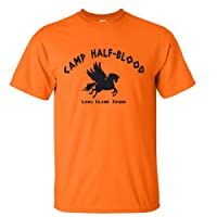 Camp Half Blood Cool Percy Jackson Halloween Costume Youth Shirt Large Orange