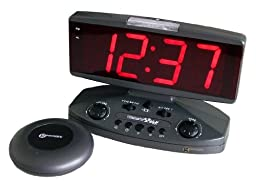 Sonic Alert Wake Up Call - Extra Loud Alarm Clock with Super Shaker