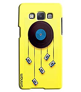 Omnam Old And New Music Cassettes Combination Printed Designer Back Cover Case For Samsung Galaxy A3