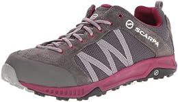 Scarpa Womens Womens Rapid LT Hiking Shoe PewterRaspberry 43 M EU 11 BM US