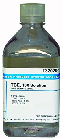 TRIS-BORATE-EDTA, 10X SOLUTION, 1 LITER - Edta Disodium Salt