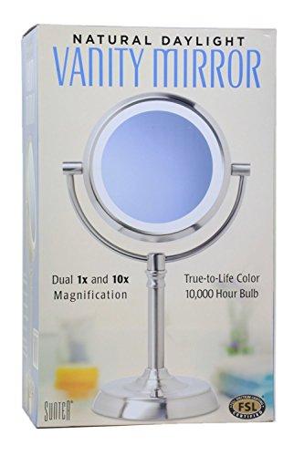 Sunter Natural Daylight Vanity Mirror Furniture Cabinets Storage Vanities