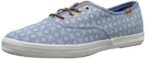 keds-ch-diamond-dot-blue-chaussures-a-lacets-femme-bleu-bleu-395-eu