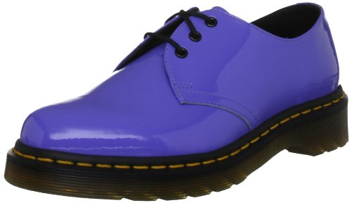 f742cf6e79bff1 Buying Dr. Martens Women s 1461 Patent Dusty Blue Casual Lace Ups 10084410  8 UK