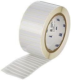 Brady THT-15-717-2.5 Thermal Transfer Printer Label, White
