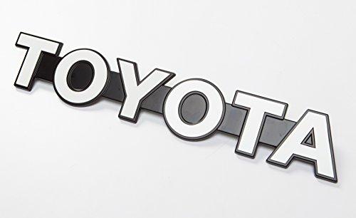 Genuine Toyota Emblem for Custom DIY Satoshi Grille Mod LAND CRUISER (BJ40 & FJ40) BJ70 Landcruiser (Custom Toyota Emblem compare prices)