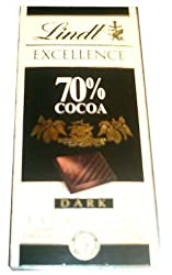 Lindt 70% Cocoa, Dark, 100g
