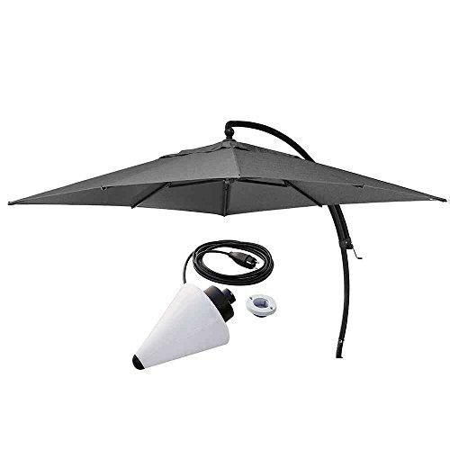 Sun Garden Cantilever Parasol Cover, 100% Polypropylene B055Â Aluminium  Easy Plus 320Â X 320Â