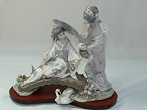 Amazon.com: Lladro Springtime In Japan Figurine 1445: Home & Kitchen