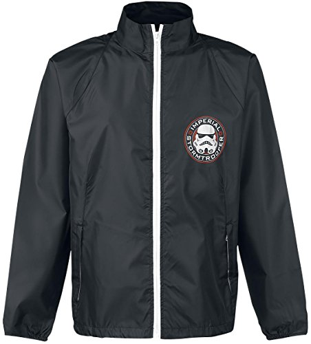 Star Wars Imperial Stormtrooper Giacca a vento nero XL