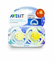 Philips AVENT BPA Free Night Time Pacifier by Avent