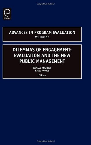 Dilemmas of Engagement, Volume 10 (Advances in Program Evaluation)