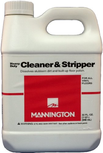 Mannington Award Series Heavy Duty Cleaner & Stripper - 32 oz. Bottle