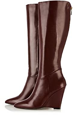 Limited Edition: Pointy Knee Wedge Boot