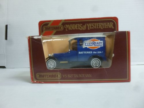 Matchbox Models of Yesteryear Y-5 1927 Talbot Van - 1