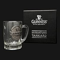 Guiness Mini Tankard Pewter Label