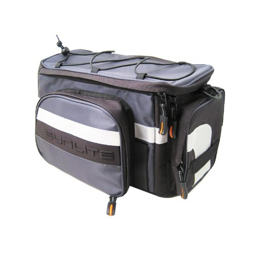 Sunlite RackPack Medium with Pannier, 2011 Model, Black/Gray