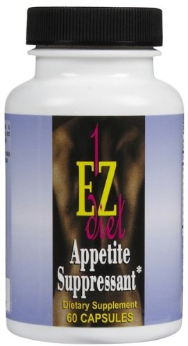 1 EZ Diet Appetite Suppressant Caps 60 ct