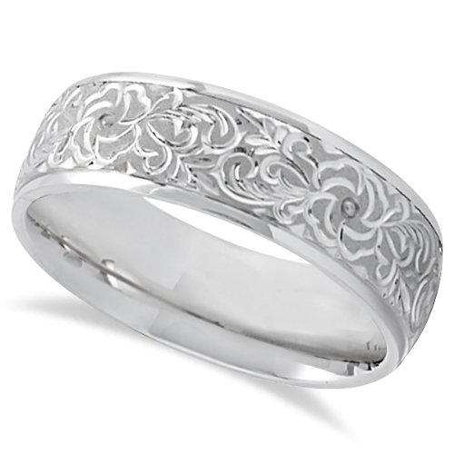 Engraved Wedding Bands For Women