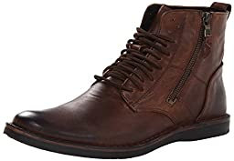 John Varvatos Men\'s Barrett Boot Boot, Mocha, 10.5 M US