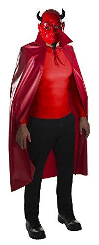 Rubies Scream Queens Red Devil Mask & Cape Standard