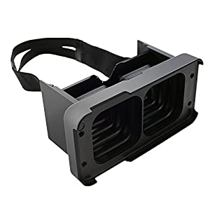 VR Headset MagiMent 3D VR Box Virtual Reality Video Movie Game Glasses Fit for Smartphone iPhone6/6S Plus 4.7/5.5 inch Black