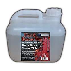 Fire and Rescue Fog Smoke Fluid Juice - 2.5 Gallons from Froggys Fog