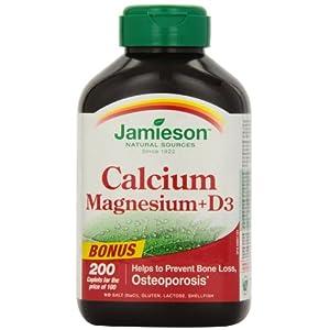 Jamieson calcium magnesium with vitamin d