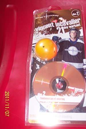 smart hockey training ball & cd rom FUNDAMENTALS OF SHOOTING/vincent lecavalier 21 day workout DISC 2