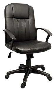 Mayfair Executive Office Chair - 360 Degree Swivel - Adjustable Height and Tilt - Ergonomic Design - Passive Lumbar Support