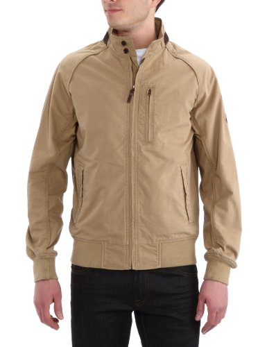 Timberland Lightweight Spring Bomber Men's Jacket British Khaki Small