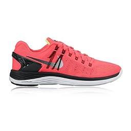 Nike Men\'s LunarEclipse 5 Hot Lava/White Size 8.5