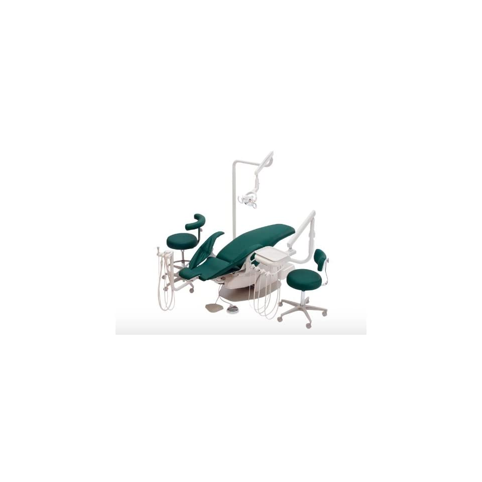Alliance Swing Mount Ensemble   Dental Unit Chair, Complete Package Delivery Systems, Operatory Light, Stools with Cuspidor ,By DCI From Endodentalsupply