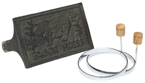 Norpro Cast Iron Bacon Grill Press and Egg Ring Set (Bacon Press Norpro compare prices)