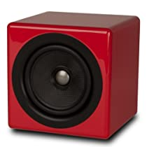 Kanto Speakers BENREDGL Pair of 5-Inch Passive Mix and Match Bookshelf Speakers - Gloss Red