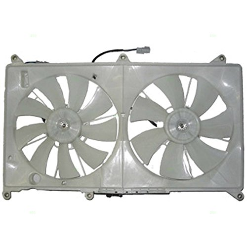 AC A//C Condenser Cooling Fan Right RH Passenger for Plymouth Chrysler Dodge