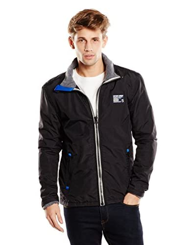 Superdry Giacca Polar Outdoor Tri Colour [Nero]