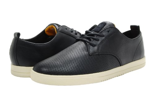Clae Ellington Black Perf Leather 7
