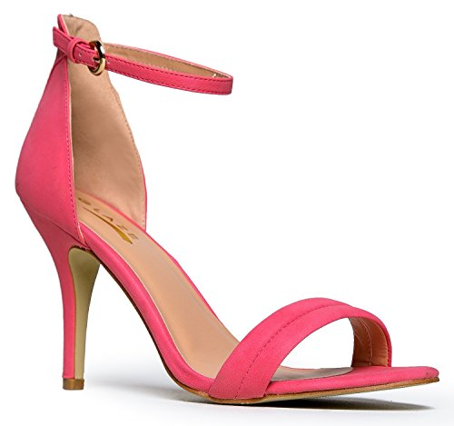 Women's Ankle Strap High Heels | Dress, Wedding, Party Heeled Sandals | Elegant, Comfortable & Strappy