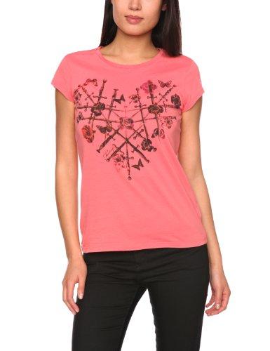 Firetrap Clash-Heart Printed Women's T-Shirt