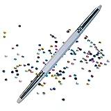 Strassstein-Picker mit 2 Spitzen - Nailart Werkzeug Tool +...