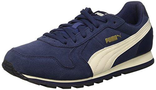 Puma St Runner Sd, Scarpe da Corsa Uomo, Blu (Peacoat/Whisper White/Oro/Nero), 9