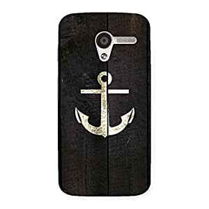 Gorgeous Bold Anchor Back Case Cover for Moto X