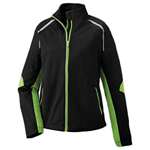 Ash City Ladies Dynamo Hybrid Performance Soft Shell Jacket by Ash City