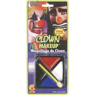 Fast Face Clown Make-up Kit